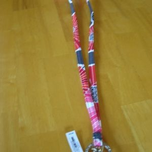 NWT Vera Bradley Lanyard in Cherry Blossoms